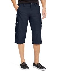INC International Concepts Patrick Messenger Shorts, Created For Macy's - Blue