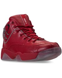 AND1 Men's Coney Island Classic Basketball Sneakers From Finish Line - Red
