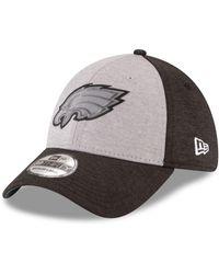 huge discount 74f8a d266d KTZ - Philadelphia Eagles Ref Logo 39thirty Cap - Lyst