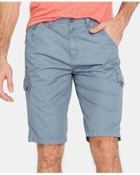 Buffalo David Bitton Howan Cargo Shorts - Blue