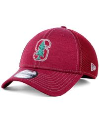 quality design fb4bd 11a98 KTZ Stanford Cardinal Perf Play 39thirty Cap in White for Men - Lyst