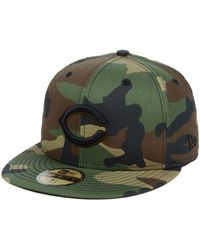 best sneakers 2a18d 77cf3 KTZ Minnesota Twins Fall Prism Pack 59fifty-fitted Cap in Brown for Men -  Lyst