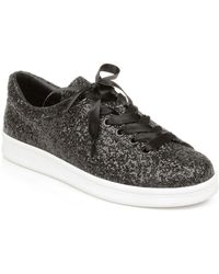 Rampage Holly Lace Up Sneakers - Black