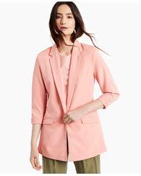 INC International Concepts Menswear Blazer, Created For Macy's - Pink
