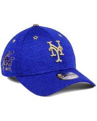 a31f13f81cd Lyst - KTZ New York Mets Trip Trucker 9Forty Cap in Blue for Men