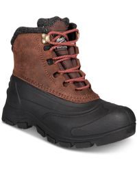 Woolrich Yukon Bay Waterproof Winter Boots - Multicolour