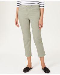 Charter Club - Tummy-control Bristol Capri Jeans, Created For Macy's - Lyst