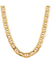 """Macy's - Mariner Link Chain 24"""" Necklace In 10k Gold - Lyst"""