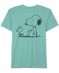 Hybrid - Snoopy Graphic T-shirt - Lyst