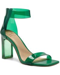 INC International Concepts Makenna Two-piece Clear Vinyl Dress Sandals, Created For Macy's - Green