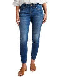 Jag Cecilia Skinny Jeans - Blue