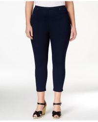 Style & Co. - Plus Size Pull-on Capri Leggings - Lyst
