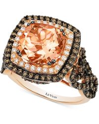 Le Vian - Morganite (2-9/10 Ct. T.w.) And Diamond (1-1/3 Ct. T.w.) Ring In 14k Rose Gold - Lyst