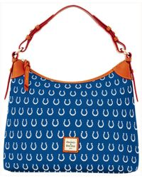 Dooney & Bourke - Indianapolis Colts Hobo Bag - Lyst