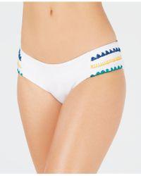 SOLUNA Summer Dreams Side Tab Bikini Bottom - White