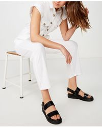 Cotton On Woven Isabella Utility Jumpsuit - White
