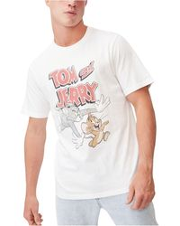 Cotton On Graphic Collab Character T-shirt - White