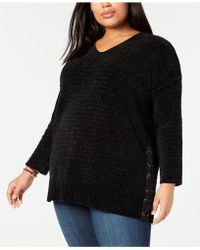 Style & Co. - Plus Size Chenille Tunic Sweater, Created For Macy's - Lyst