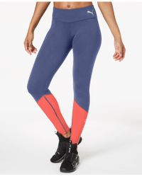 PUMA - Spark Colorblocked Leggings - Lyst