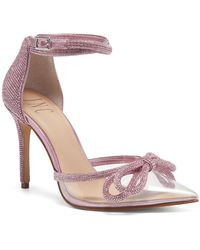 INC International Concepts Lidani Pointed-toe Clear Vinyl Pumps, Created For Macy's - Pink