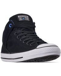 d2449626d6fc Converse - Chuck Taylor All Star High Street Casual Sneakers From Finish  Line - Lyst