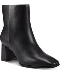 INC International Concepts Dasha Block-heel Booties, Created For Macy's - Black