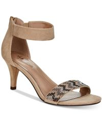 Style & Co. - Phillys Two-piece Evening Sandals, Created For Macy's - Lyst