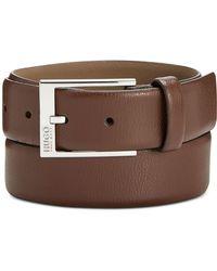 BOSS - Gellot Leather Belt - Lyst