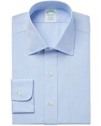 Brooks Brothers - Milano Extra Slim-fit Non-iron Pinpoint Solid Dress Shirt - Lyst