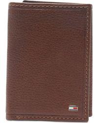 ff03221cc4 Tommy Hilfiger Wallet, Bridgewater Passcase in Brown for Men - Lyst