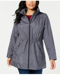 89693c2e112fe 32 Degrees - Plus Size Hooded Waterproof Anorak Raincoat - Lyst