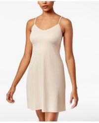 Vanity Fair - Lace-v-neck Full Slip 10141 - Lyst