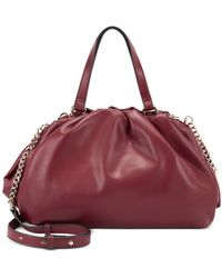 INC International Concepts Kj Frame Satchel, Created For Macy's - Red