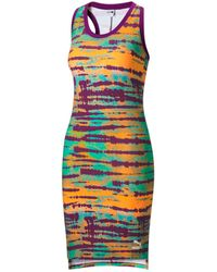 PUMA Tie-dyed Bodycon Dress - Multicolour