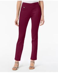 Alfani - Petite Tummy-control Pull-on Skinny Pants, Created For Macy's - Lyst
