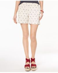 Tommy Hilfiger | Paisley-print Shorts, Created For Macy's | Lyst