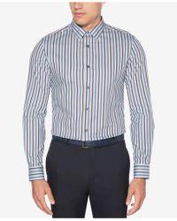 Perry Ellis - Resist Spill Stripe Shirt - Lyst