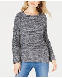 Style & Co. - Scoop-neck Marled Jumper, Created For Macy's - Lyst