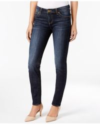Kut From The Kloth - Diana Skinny Cuffed Jeans - Lyst