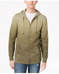 American Rag   Ombré Full Zip Hoodie, Created For Macy's   Lyst
