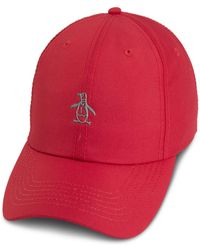 Lyst - Barney Cools B. Cool Snapback Hat in Red for Men 51183ffb5847