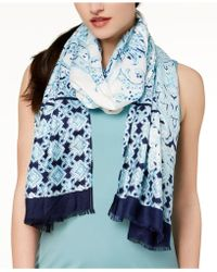 INC International Concepts - I.n.c. Swimming Tiles Wrap & Scarf In One, Created For Macy's - Lyst