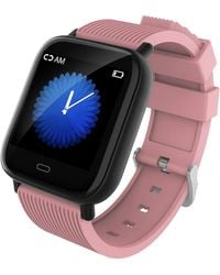 Body Glove Mako 3.2 Smart Watch With Heart Rate Monitoring - Pink