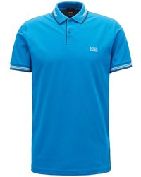 BOSS - Slim-fit Stretch Polo - Lyst