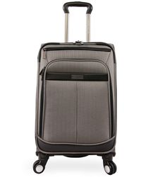"Perry Ellis Lexington Ii 22"" Softside Carry-on Spinner - Gray"