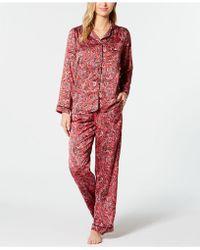 Sesoire Charmeuse Pyjama Set - Red