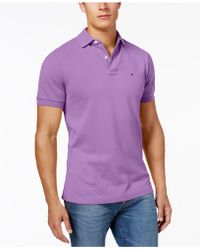 Tommy Hilfiger - Slim-fit Ivy Polo, Created For Macy's - Lyst