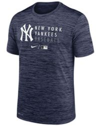 Nike New York Yankees Velocity Practice T-shirt - Blue