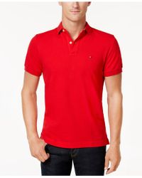 Tommy Hilfiger - Custom-fit Ivy Polo, Created For Macy's - Lyst