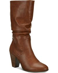 Esprit - Oliana Memory-foam Mid-shaft Boots, Created For Macy's - Lyst